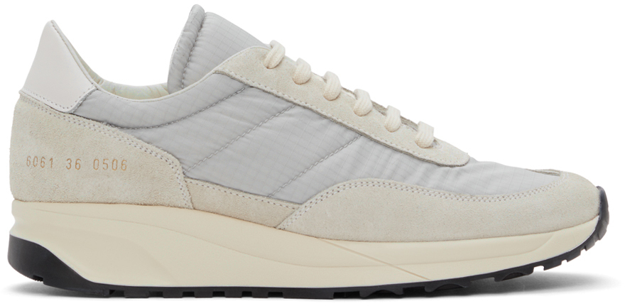 Photo: Common Projects Blue Track Classic Sneakers