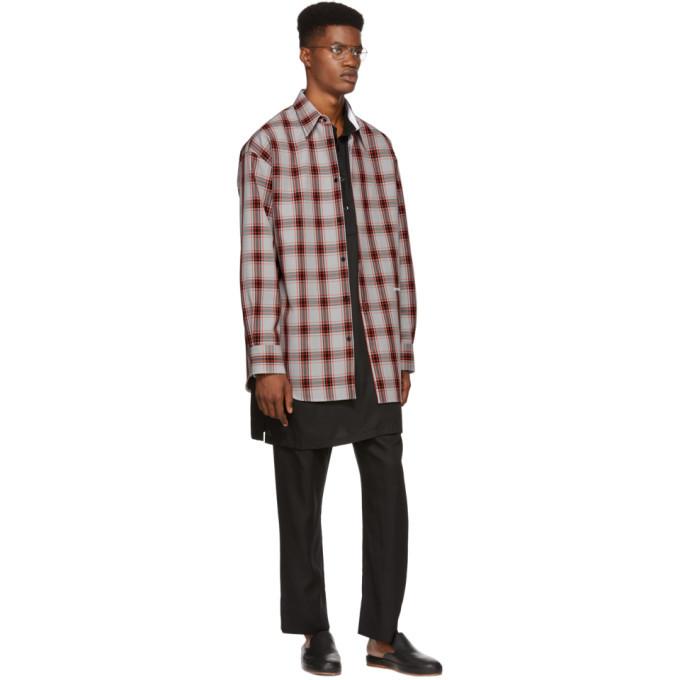 Lemaire Black Long Shirt