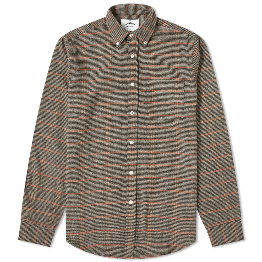Photo: Portuguese Flannel Button Down Library Check Shirt