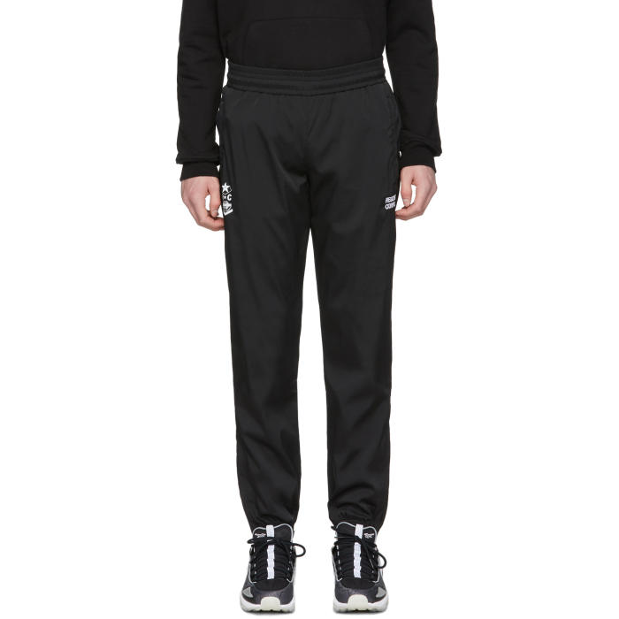 Black Save Me From Judgement Lounge Pants Resort Corps Purchase Online HD94E