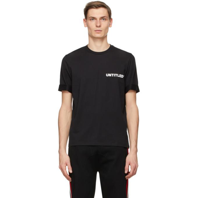 Photo: Neil Barrett Black Untitled T-Shirt