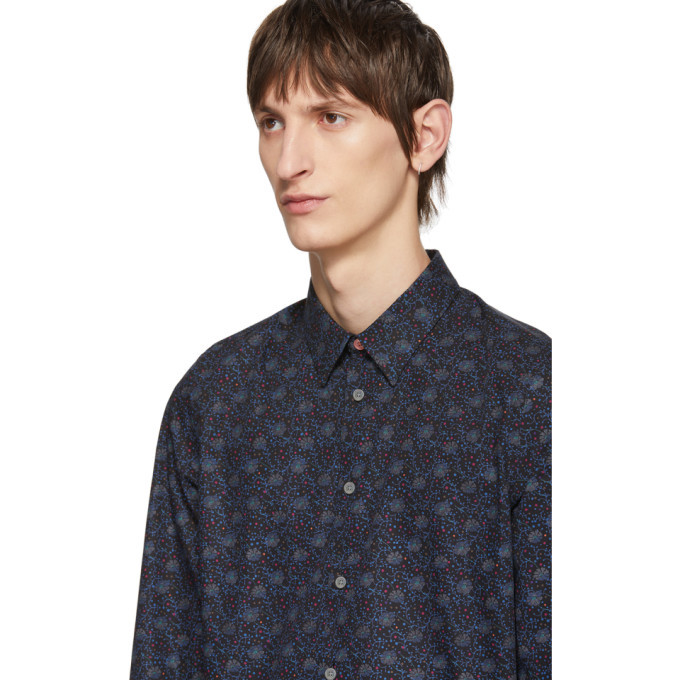 PS by Paul Smith Multicolor Saturn Floral Shirt