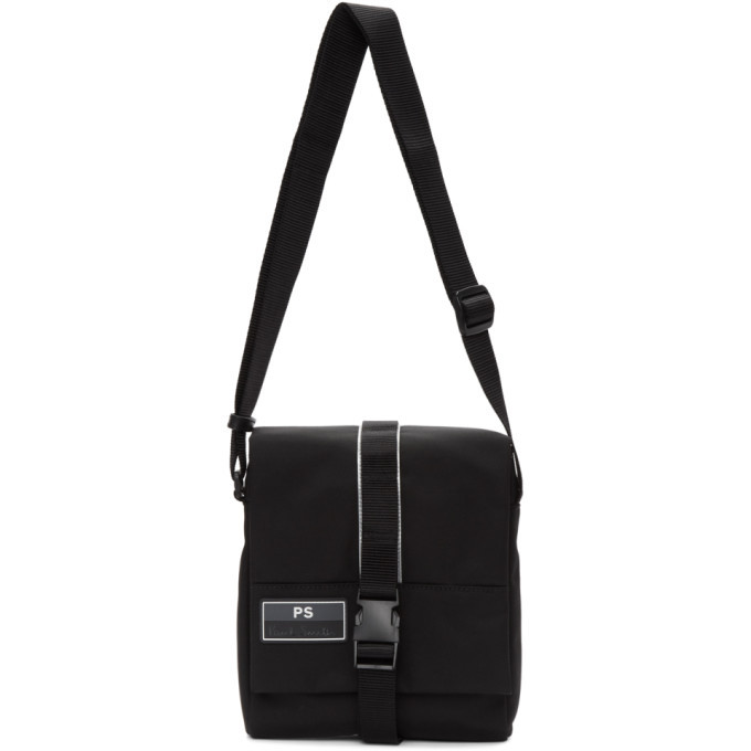 Photo: PS by Paul Smith Black UFO Messenger Bag