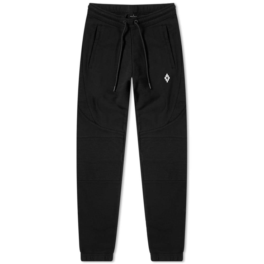 Photo: Marcelo Burlon Logo Biker Joggers