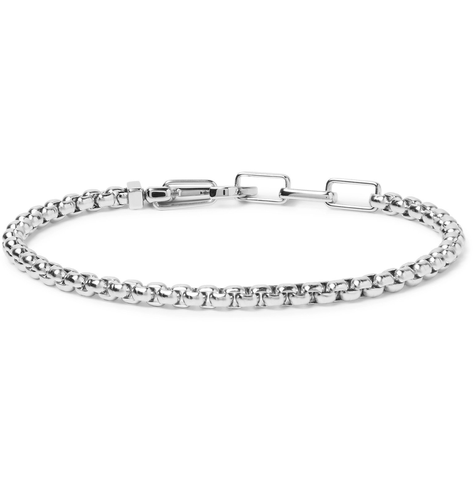 Photo: Montblanc - Stainless Steel Bracelet - Silver