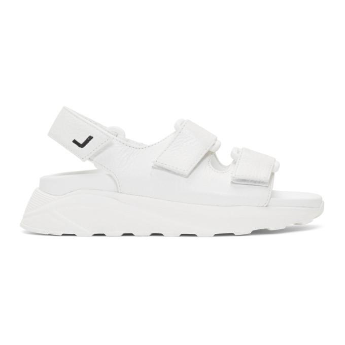 Joshua Sanders White Boing Sandals