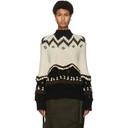 Sacai Off-White Chunky Knit Sweater