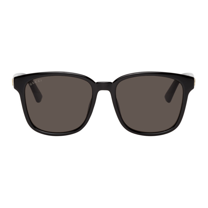Photo: Gucci Black Square Sunglasses