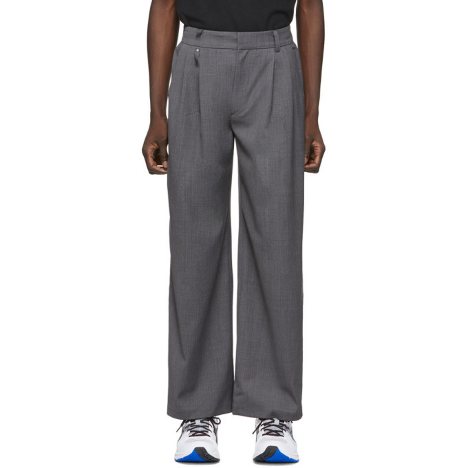 Photo: ADER error Grey Two-Way Trousers