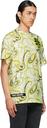 Raf Simons Yellow & Green Printed T-Shirt