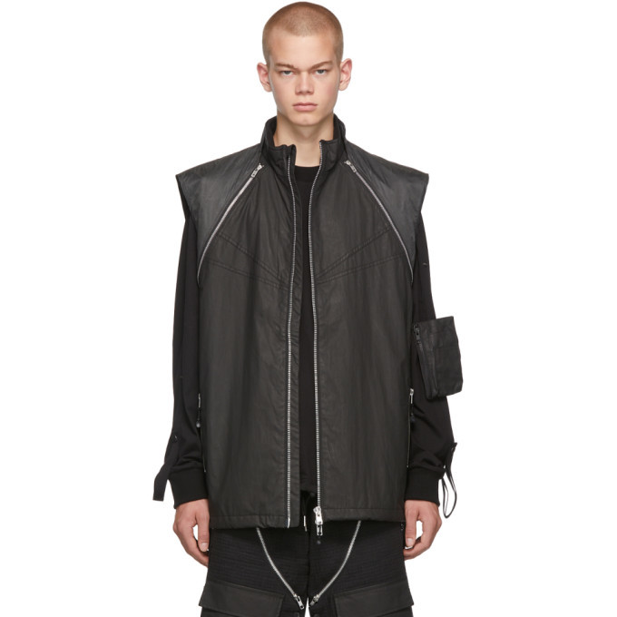 Photo: Blackmerle Black Sleeveless Vest