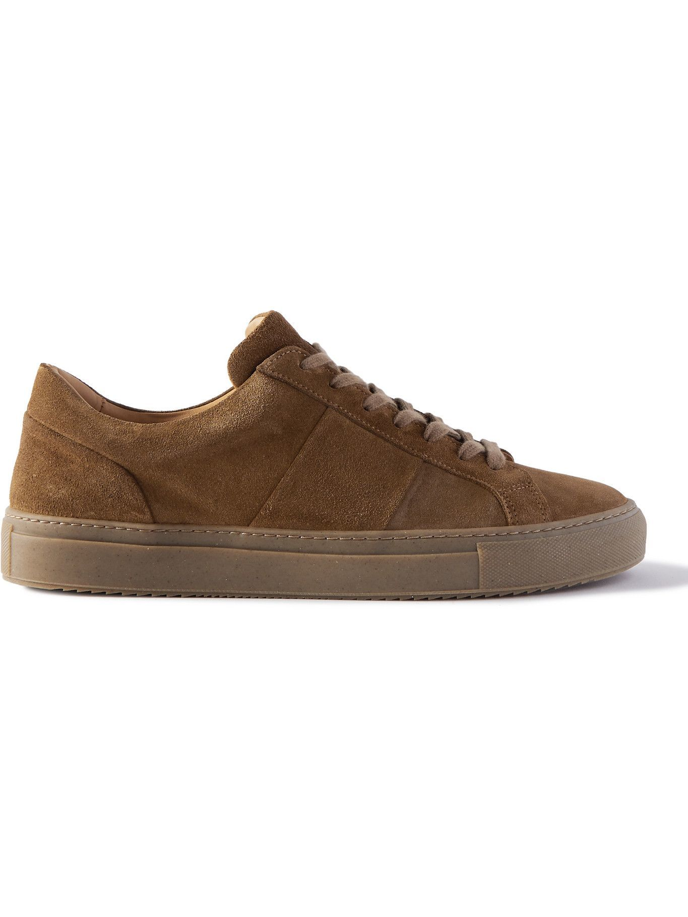Photo: Mr P. - Larry Leather Sneakers - Brown