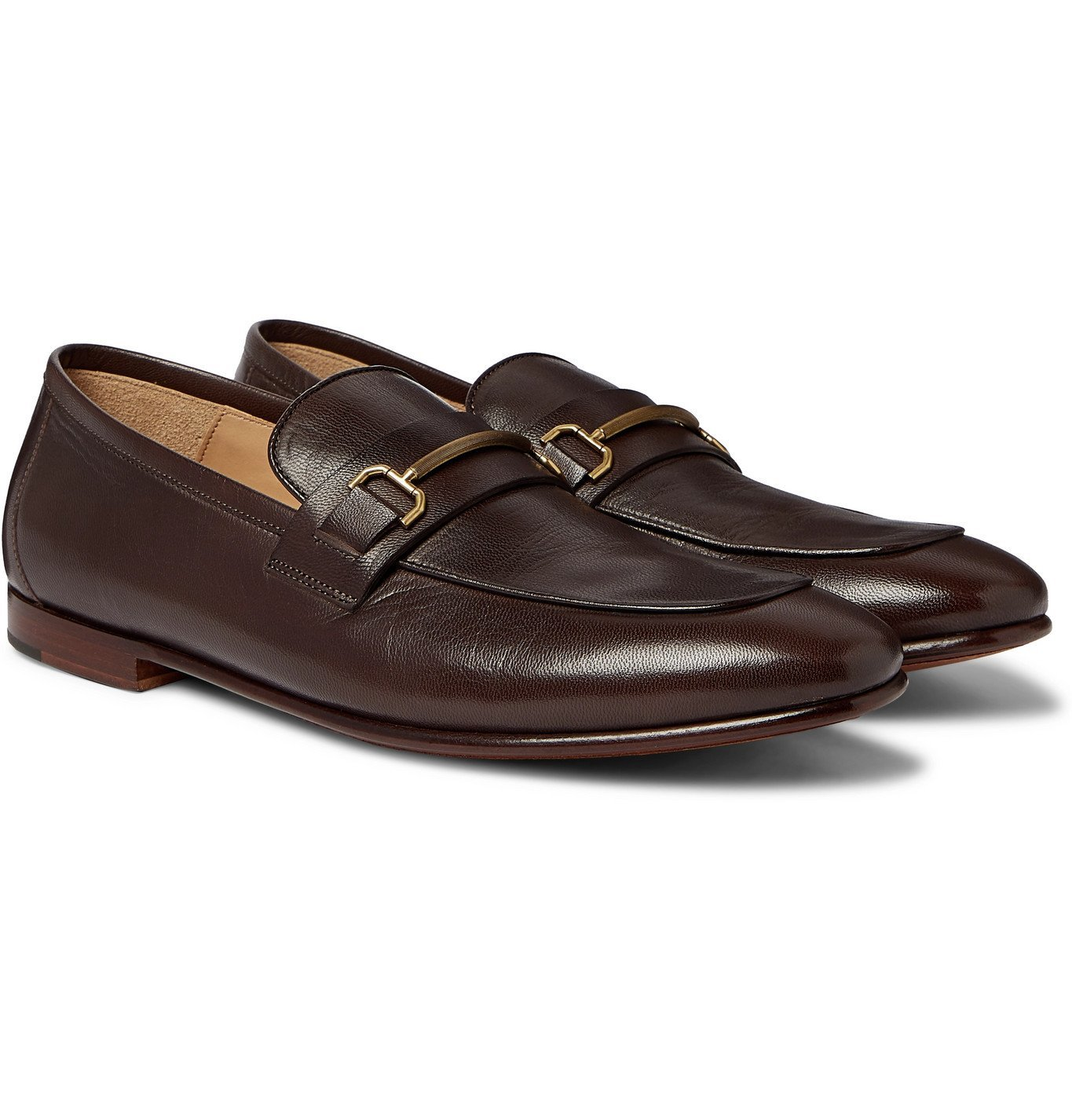 Dunhill - Chiltern Leather Loafers - Brown