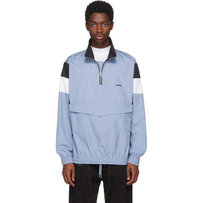 Photo: Ambush Blue Track Shirt Jacket
