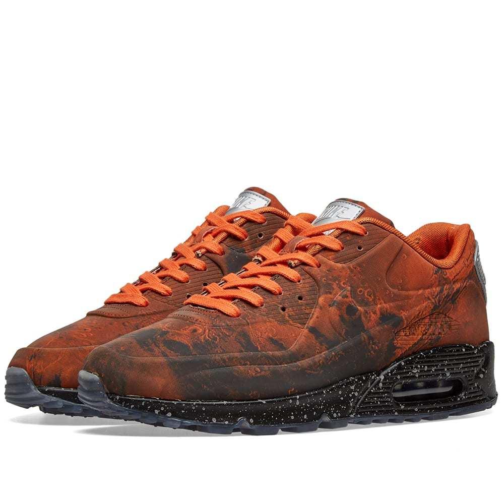 Photo: Nike Air Max 90 Mars Stone & Magma Orange