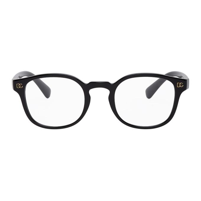 Photo: Dolce and Gabbana Black Monogram Glasses
