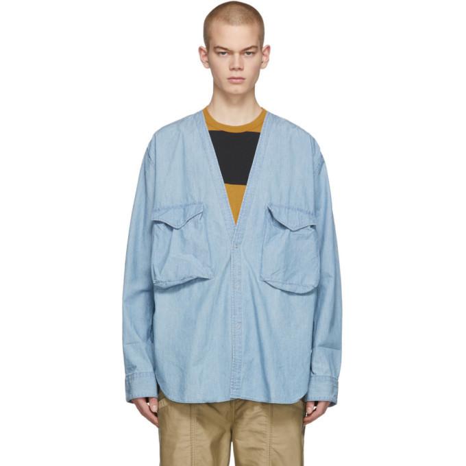 Photo: nonnative Indigo Carpenter Shirt
