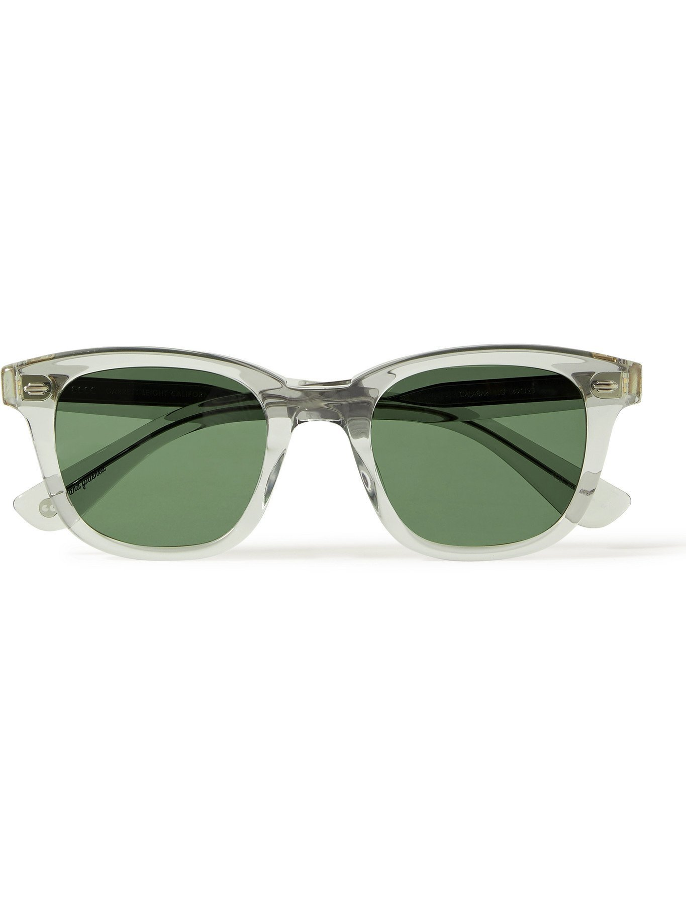 Photo: GARRETT LEIGHT CALIFORNIA OPTICAL - Calabar D-Frame Acetate Sunglasses