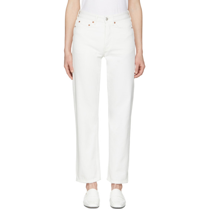 Photo: Won Hundred White Pearl Jeans