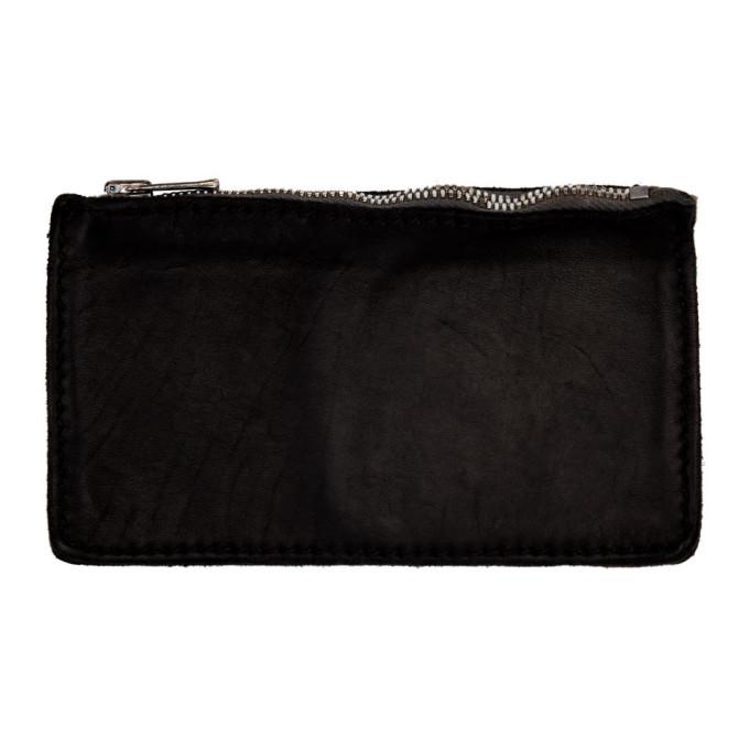 Photo: Guidi Black Zipped Wallet