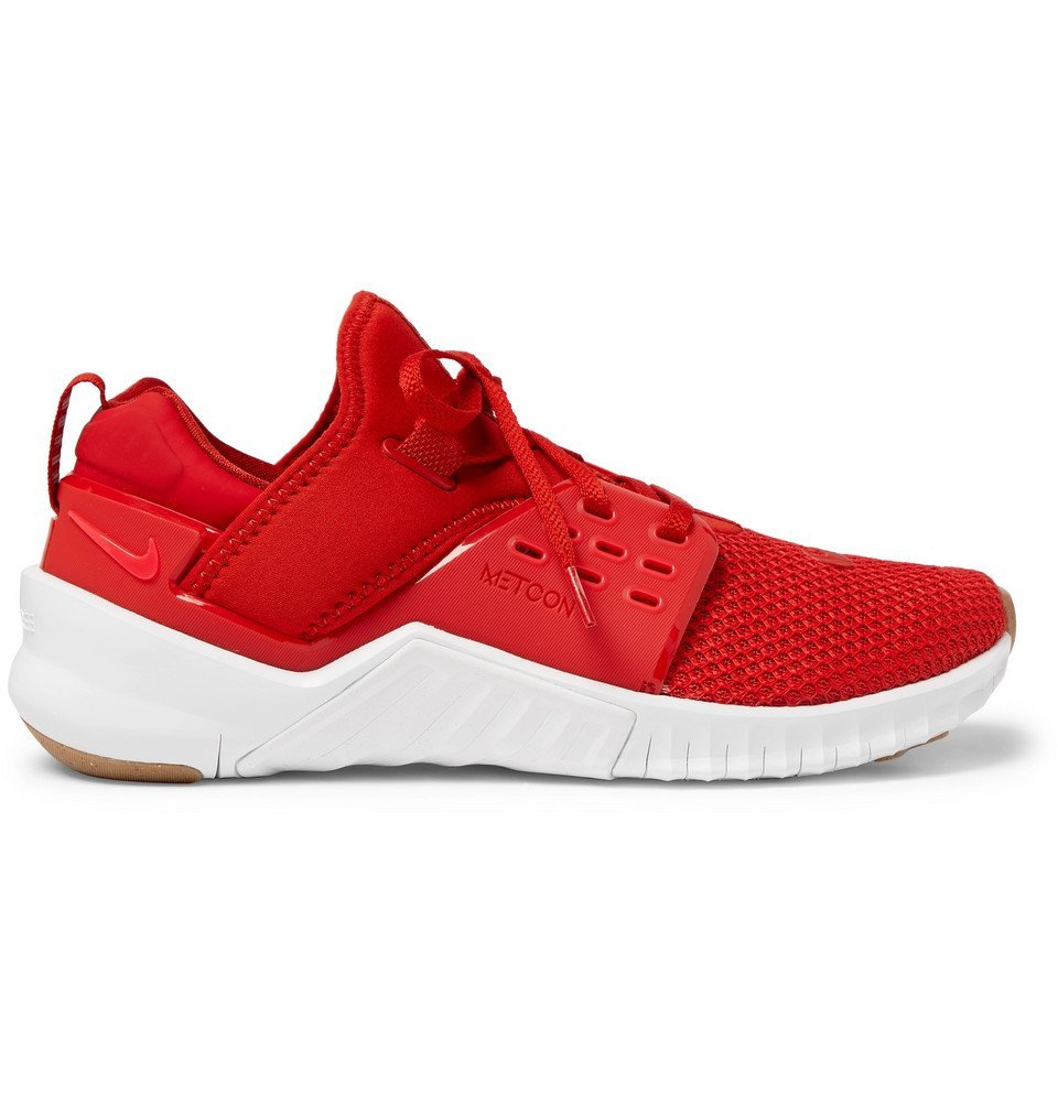 Photo: Nike Training - Free X Metcon 2 Mesh and Neoprene Sneakers - Red