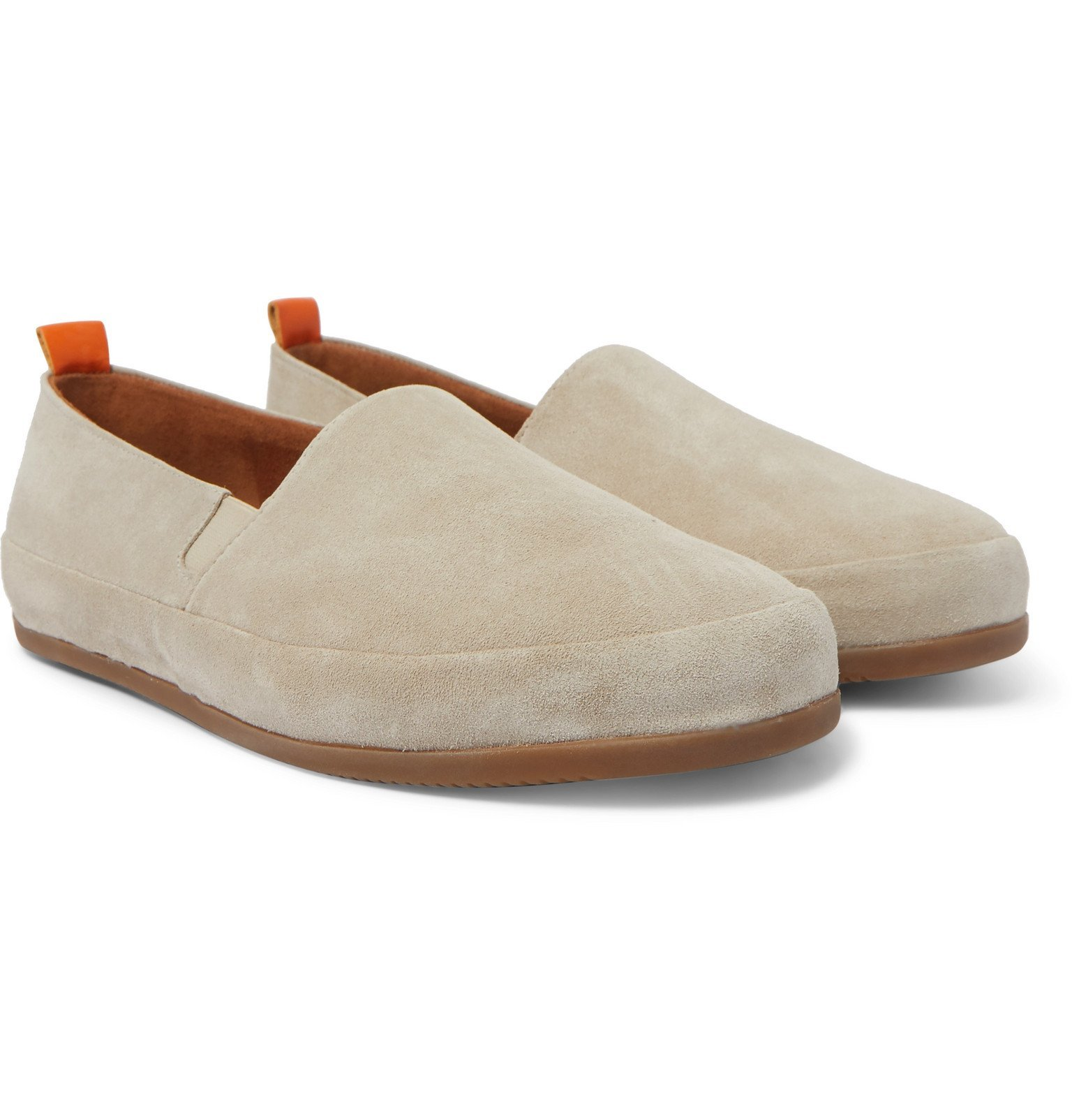 Photo: Mulo - Suede Loafers - Neutrals