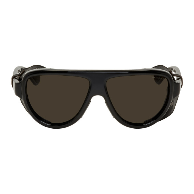 Photo: Moncler Black ML 0089 Sunglasses