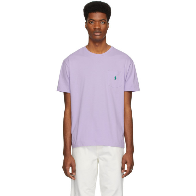 Photo: Polo Ralph Lauren Purple Pocket T-Shirt