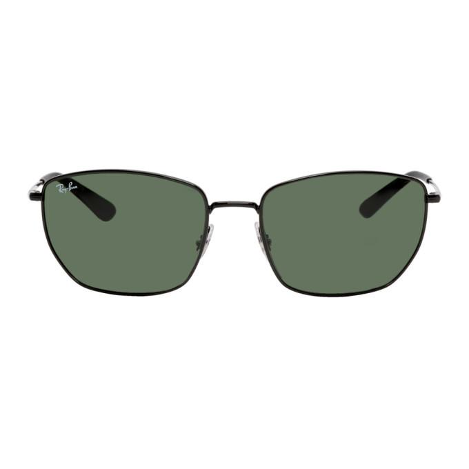 Photo: Ray-Ban Black and Green RB3653 Sunglasses