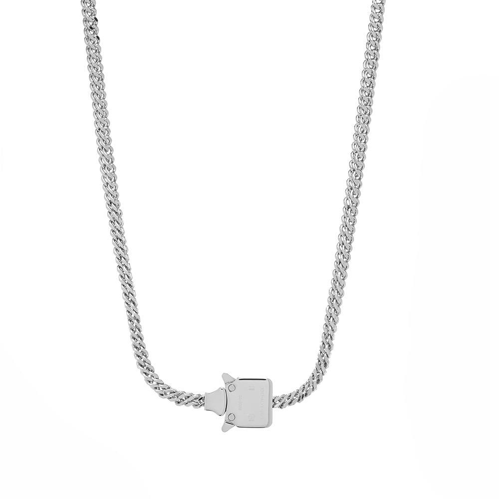 Photo: 1017 ALYX 9SM Mini Cubix Chain Necklace