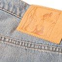 Martine Rose - Flared Bleached Denim Jeans - Blue