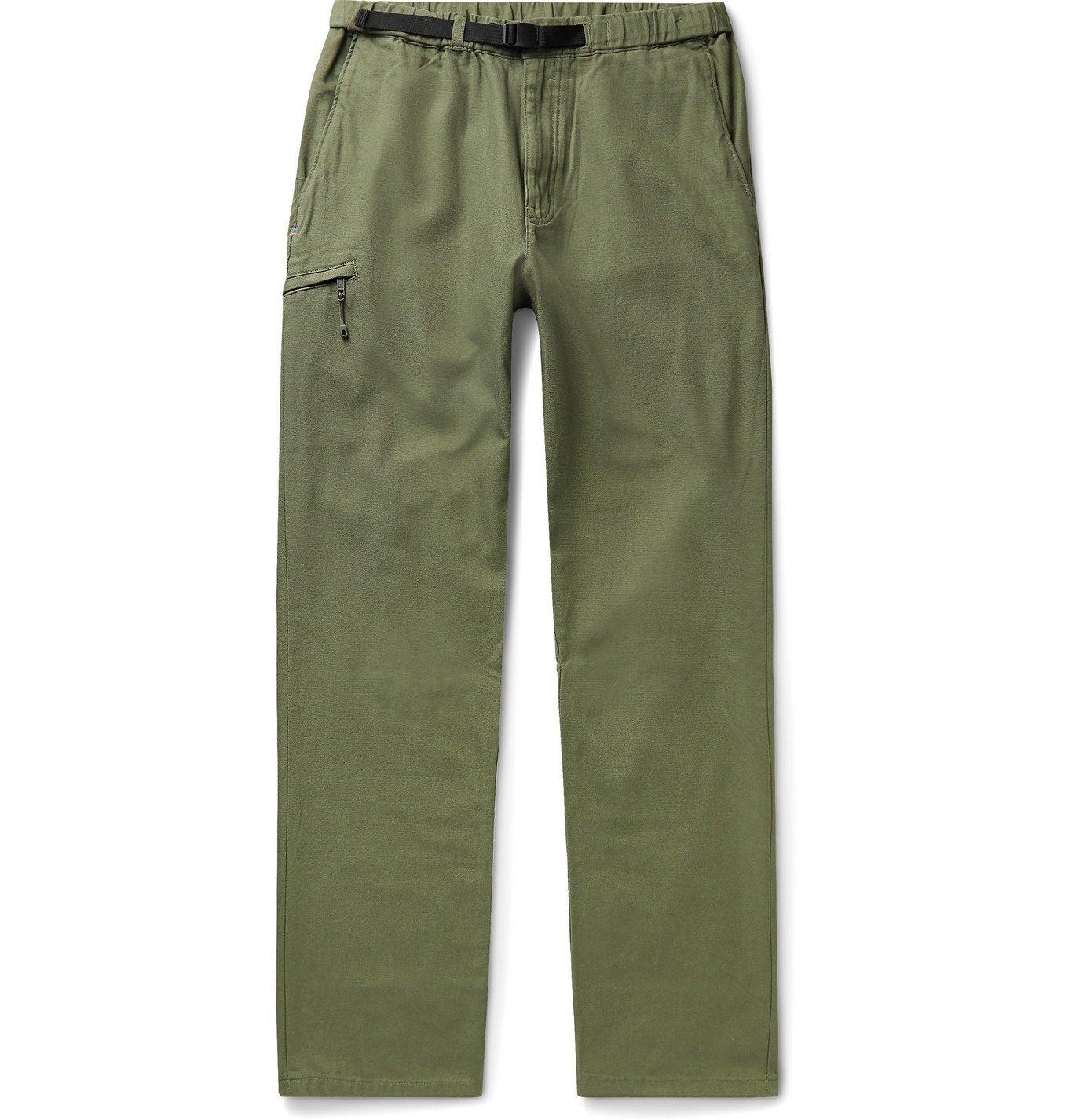 Photo: Patagonia - Gi Organic Cotton-Canvas Trousers - Green
