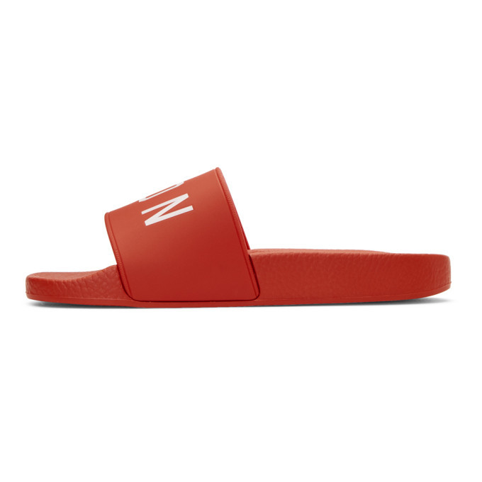 Sale Latest Collections Red Dune Icon Slides Dsquared2 Outlet Store Online pwtWWbqzIl
