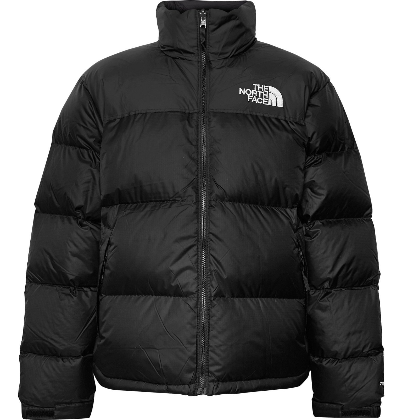 Photo: The North Face - 1996 Nuptse Quilted Nylon-Ripstop Down Jacket - Black