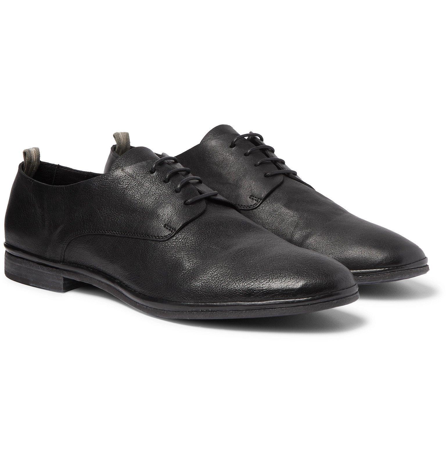 Photo: Officine Creative - California Suede Oxford Shoes - Black