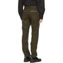 Sacai Khaki Wool Belted Trousers