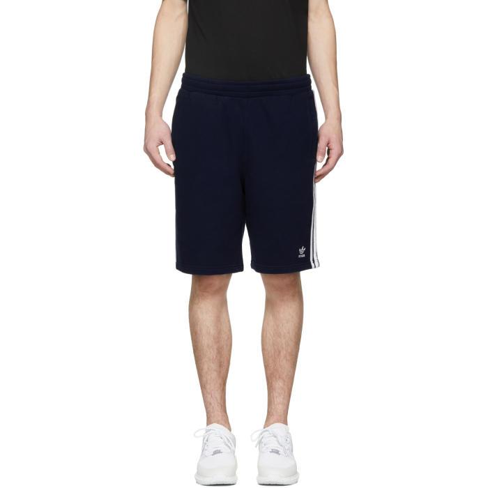 Pantalones cortos 3 adidas Originals rayas Navy 3 rayas Navy Adidas 3e38b25 - temperaturamning.website