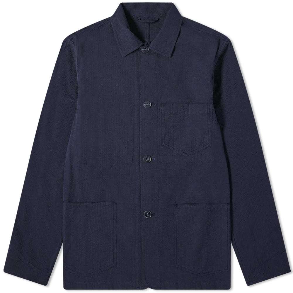 Photo: Officine Generale Seersucker Chore Jacket