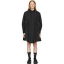 Sacai Black Cotton Poplin Dress