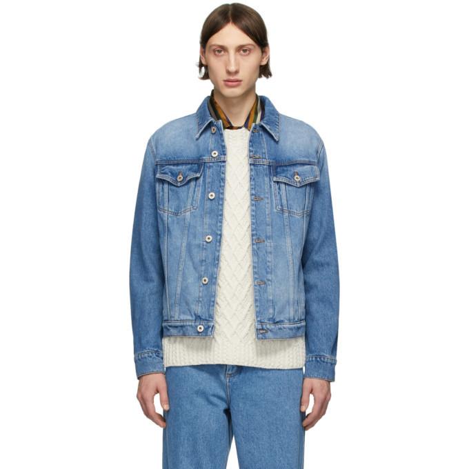 Photo: Loewe Blue Denim Anagram Jacket