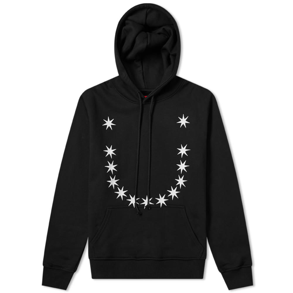 Photo: 424 Embroidered Stars Hoody