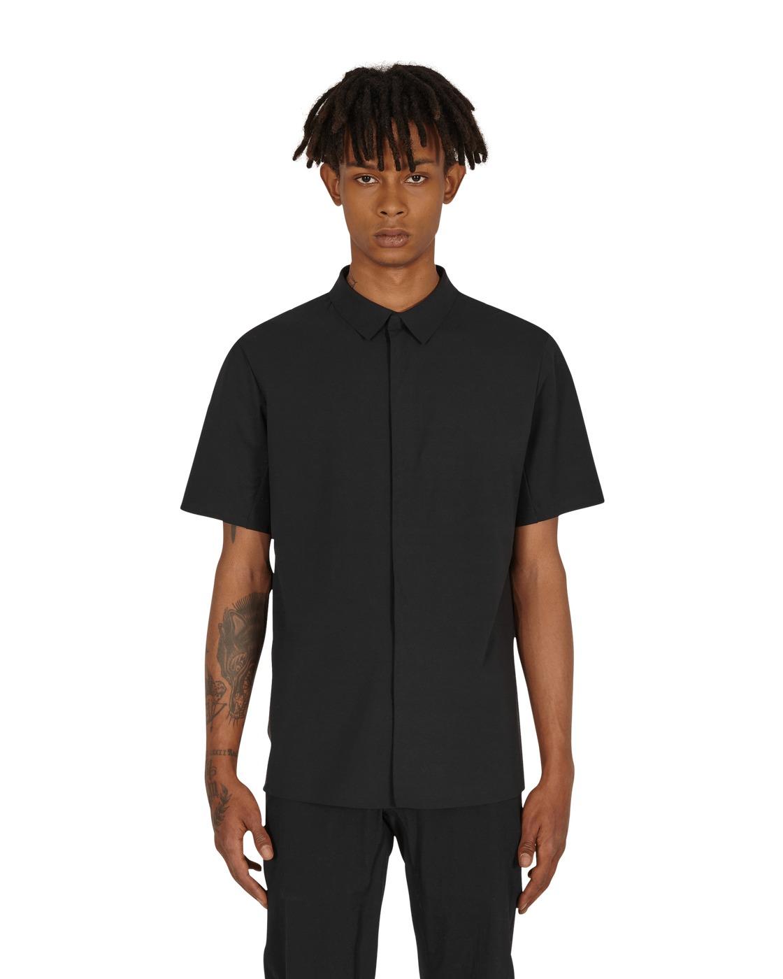 Arc'teryx Veilance Metre Zip Shirt Black