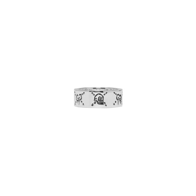 Photo: Gucci Silver GucciGhost Ring