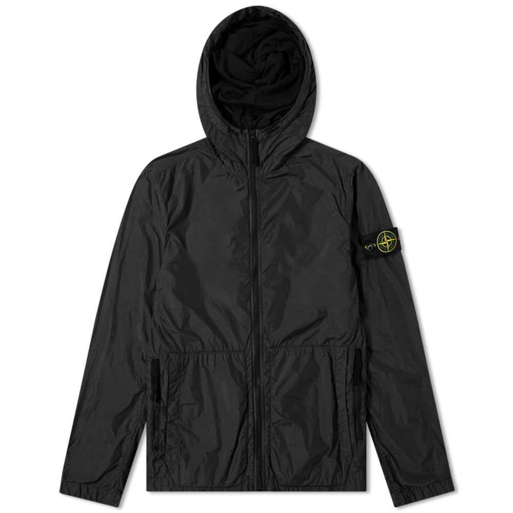 Photo: Stone Island Garment Dyed Crinkle Reps Hooded Jacket