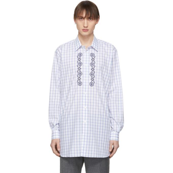 Photo: Stella McCartney Blue Embroidery Shirt