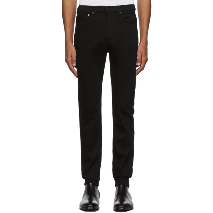Photo: PS by Paul Smith Black Slim Fit Jeans