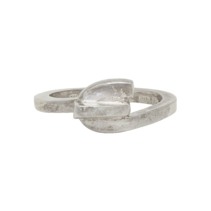 Photo: Jil Sander Silver Line Ring