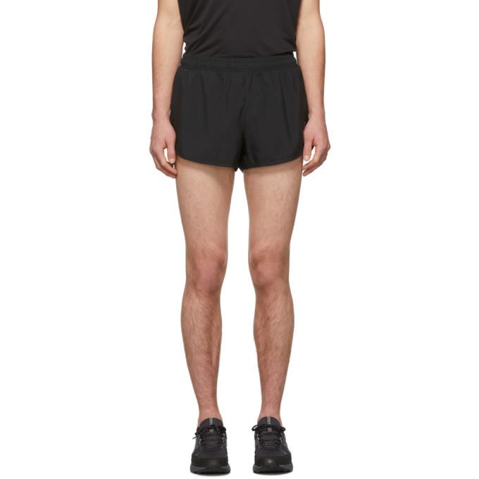 Photo: Asics Black Split Shorts