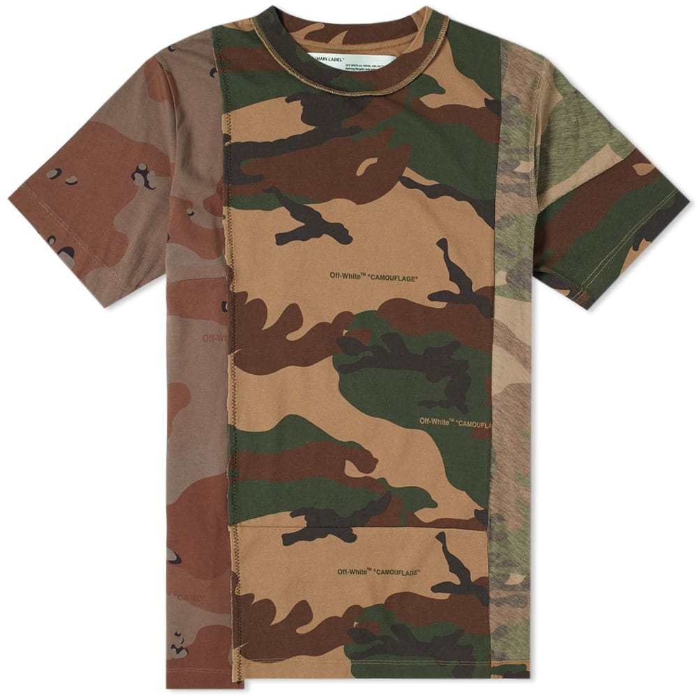 Photo: Off-White Reconstructed Camo Tee