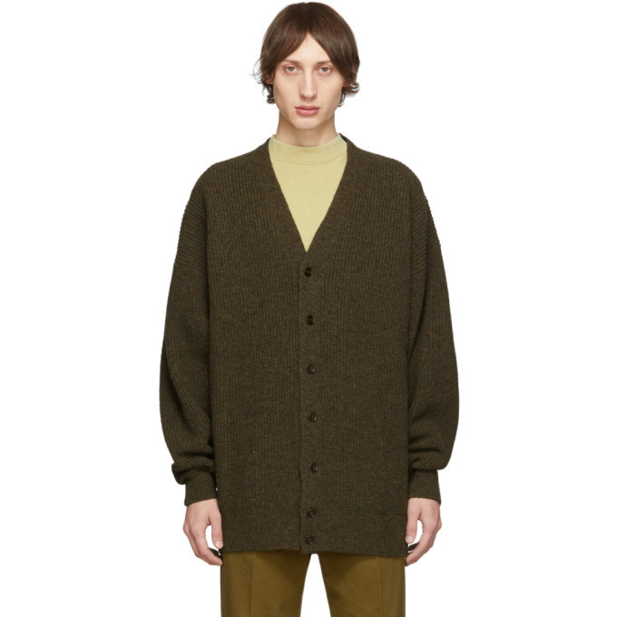 Photo: Lemaire Brown Shetland Spring Cardigan